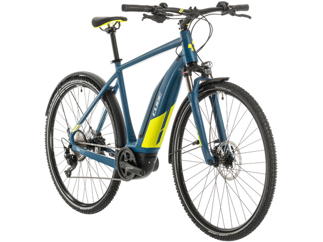 Cube Nature Hybrid EXC 500 Allroad, blue/lime